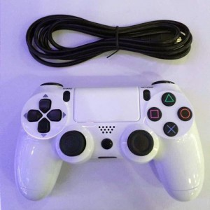 ps4 dualshock 4 wirless controller white
