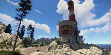 Карта в Rust: ориентация и перемещение по острову